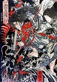 Le héro Japonais, Susanoo, affrontant le dragon à 8 tête est une histoire semblable à celle de Cadmos et Saint-George, preuve de l'existence d'un mono-mythe.