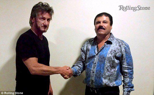 Sean Penn et El chapo, 2 gros sacs de merde.