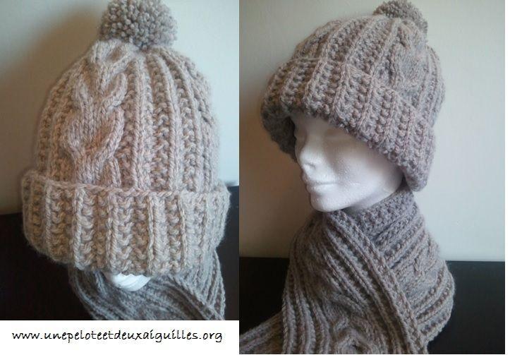 Tricoter un bonnet adulte unisexe