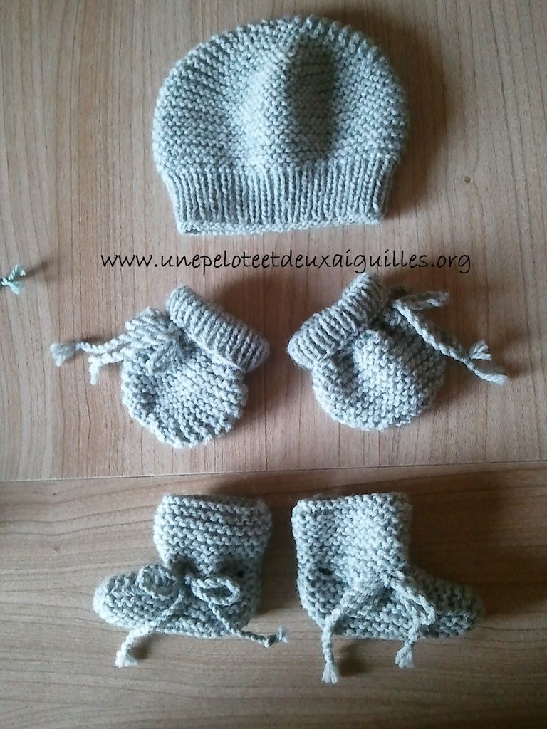 Tricoter un ensemble pour prématuré 28/30 semaines