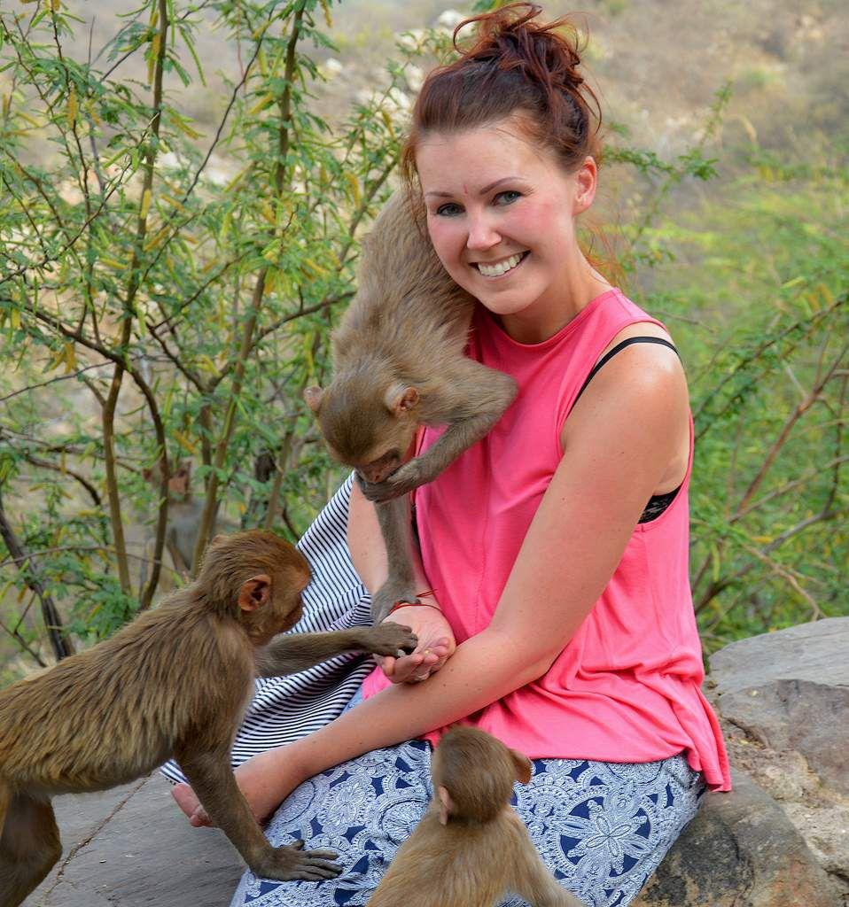 Mes nouveaux amis <3 Monkey Temple