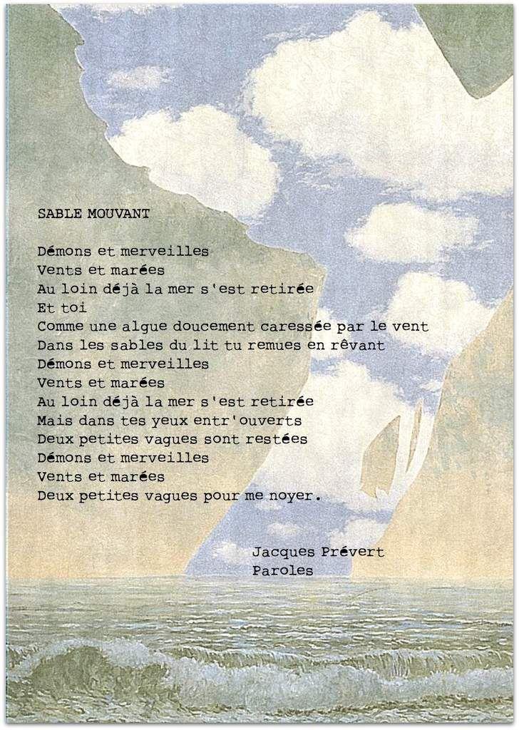 À chaque mois son poème