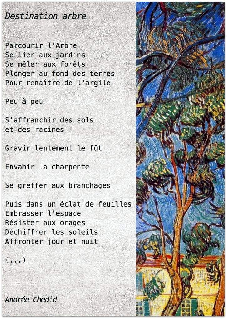 À chaque mois son poème Le blog du Printemps des Poètes de