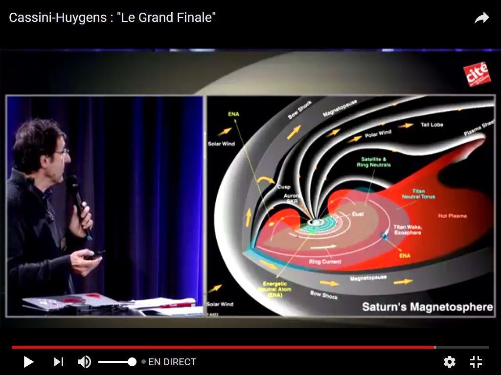 magnétosphère de Saturne