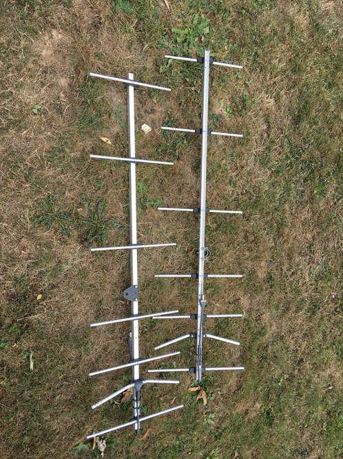 Memorial f9ln, test du stack de 7 éléments dg7ybn 70cms