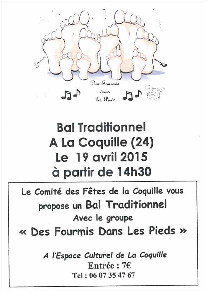 BAL TRAD A LA COQUILLE