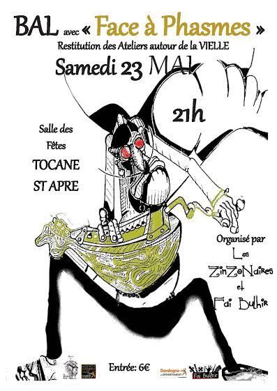 Tous à Tocane le 23 mai!!!!