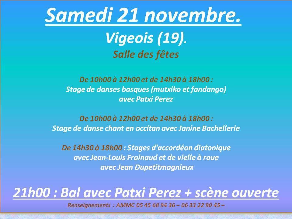 Le Vigeois 21 Novembre