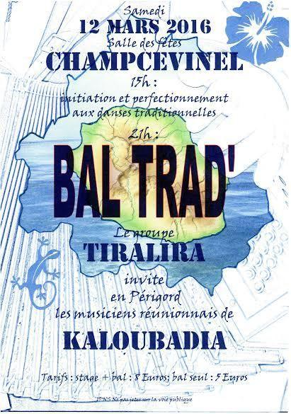 Bal Trad à Champcevinel ...