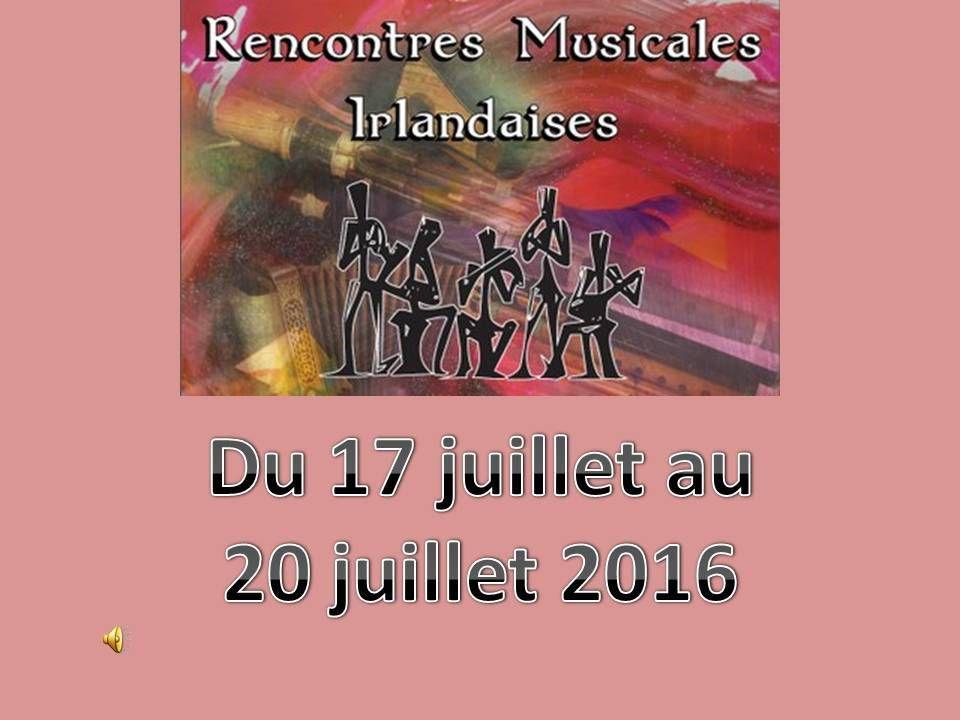 Rencontre musicale irlandaise tocane 2017