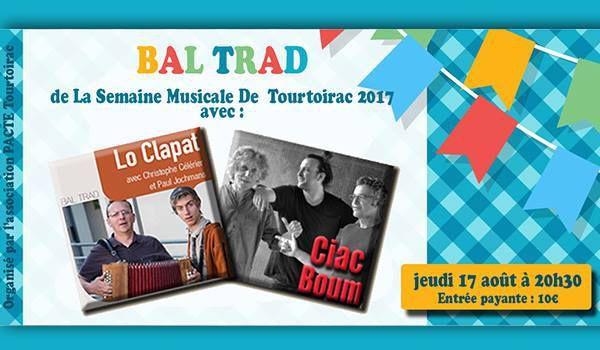 17 août : Ciac Boum et Lo Clapat à Tourtoirac - Dordogne