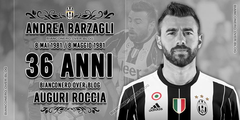 Le 8 mai 2017, Andrea Barzagli fête ses 36 ans !
