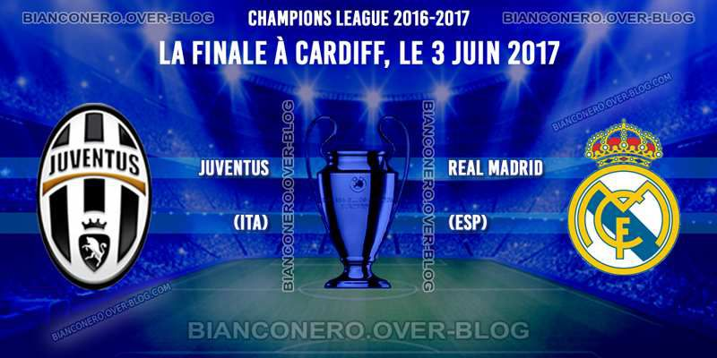 Finale Champions League 2017, Juventus - Real Madrid