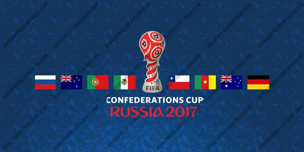 Calendrier complet de la Coupe des Confédérations 2017