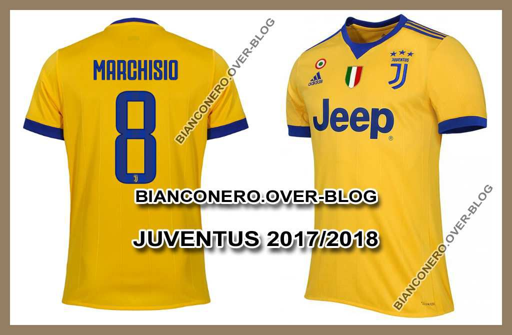 Officialisation du maillot ext rieur 2017 2018 de la for Maillot juventus exterieur 2017