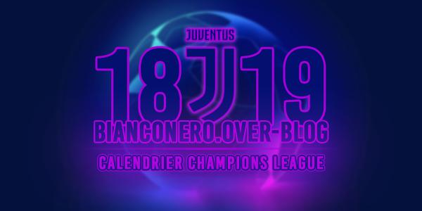 Champions League 2019 Calendrier.Calendrier Complet De La Champions League 2018 2019 Le