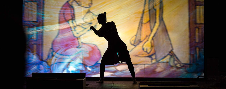 « Moun » du Teatro Gioco Vita, à Avignon