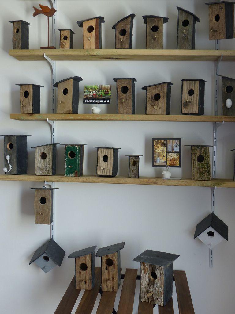 Nouveaux BO nichoirs en bois flotté