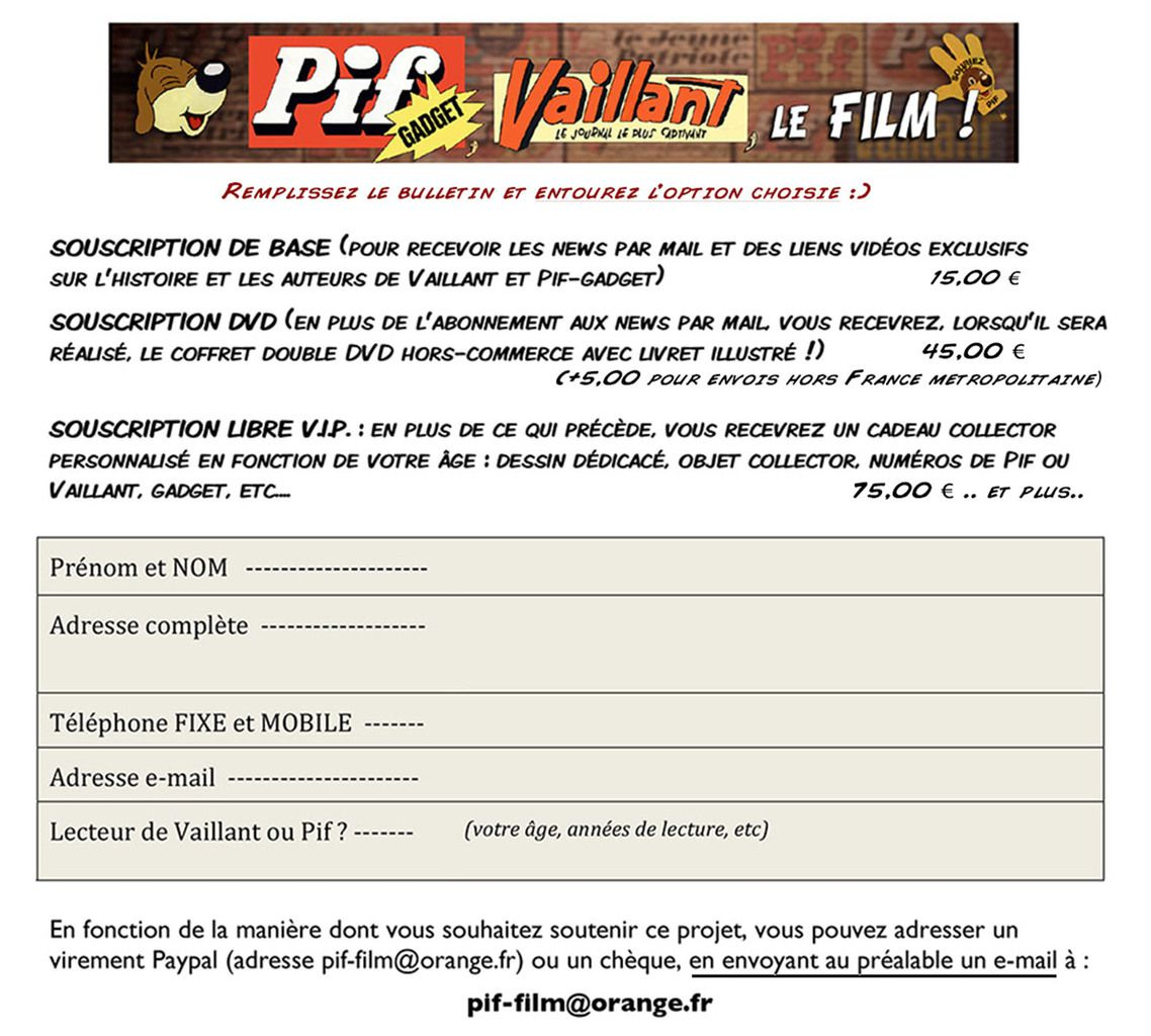 Pif Vaillant Film