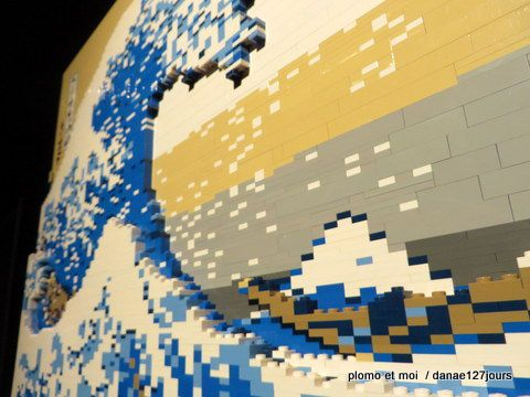 L'incroyable art du Lego exposition The Art of The Brick de Nathan Sawaya jeudi 27 août 2015