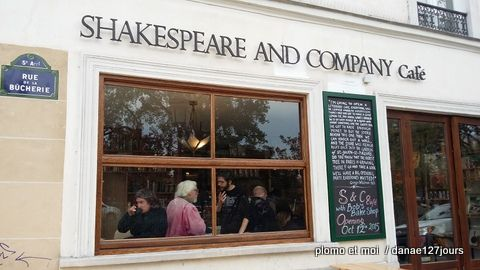 Shakespeare and Company café opening October 12th 2015