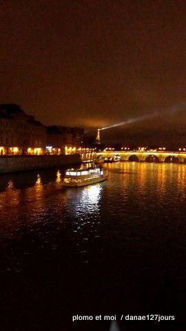 C'est beau Paris la nuit.... mardi 5 janvier 2016