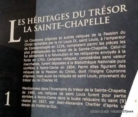 Le Trésor de Notre-Dame de Paris vendredi 5 février 2016