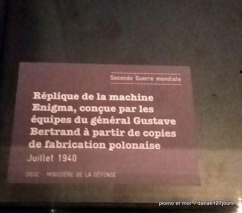 Exposition Guerres Secrètes - Musée de l'Armée lundi 9 janvier 2017