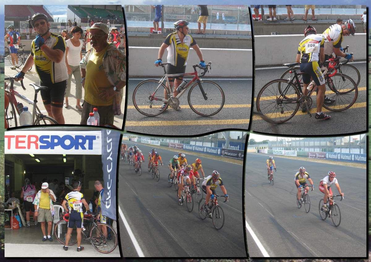 """24 heures vélo 2010 l'équipe du cyclo ludois """" Les mollets de coq"""""""