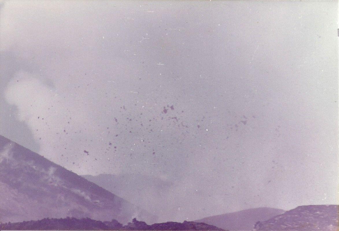 Eruptions de l' Etna: un moment unique de ma vie...