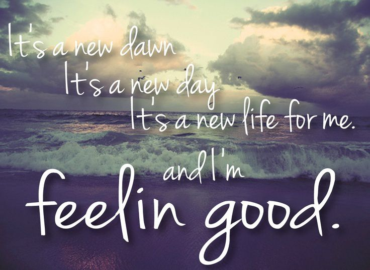 Feeling good... - Le blog de alea-jacta-est