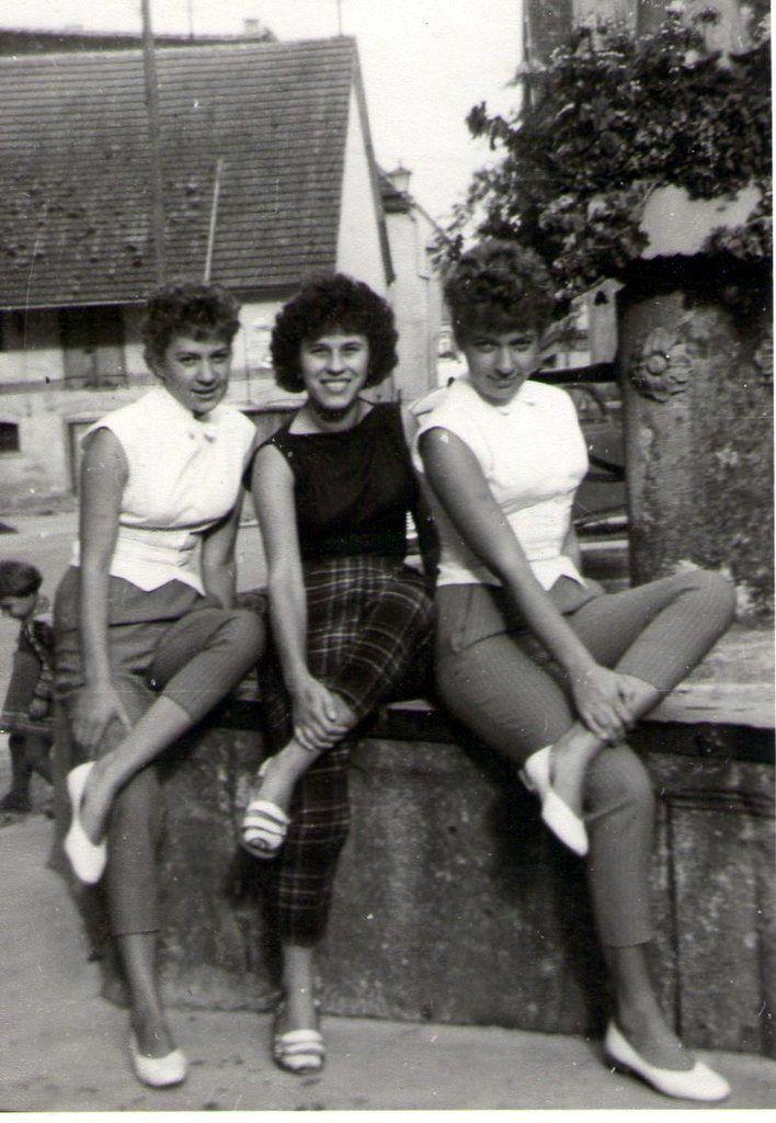 Marjelchens: Ulla, Anneliese und Erika