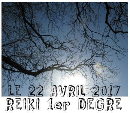 INITIATION REIKI 1er DEGRE
