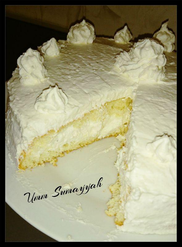 Gâteau Raffaelo