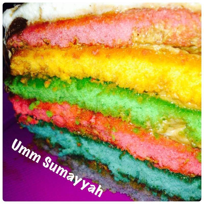Mon Raimbow Cake