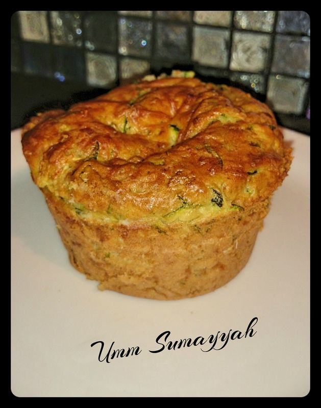 Muffin aux courgettes