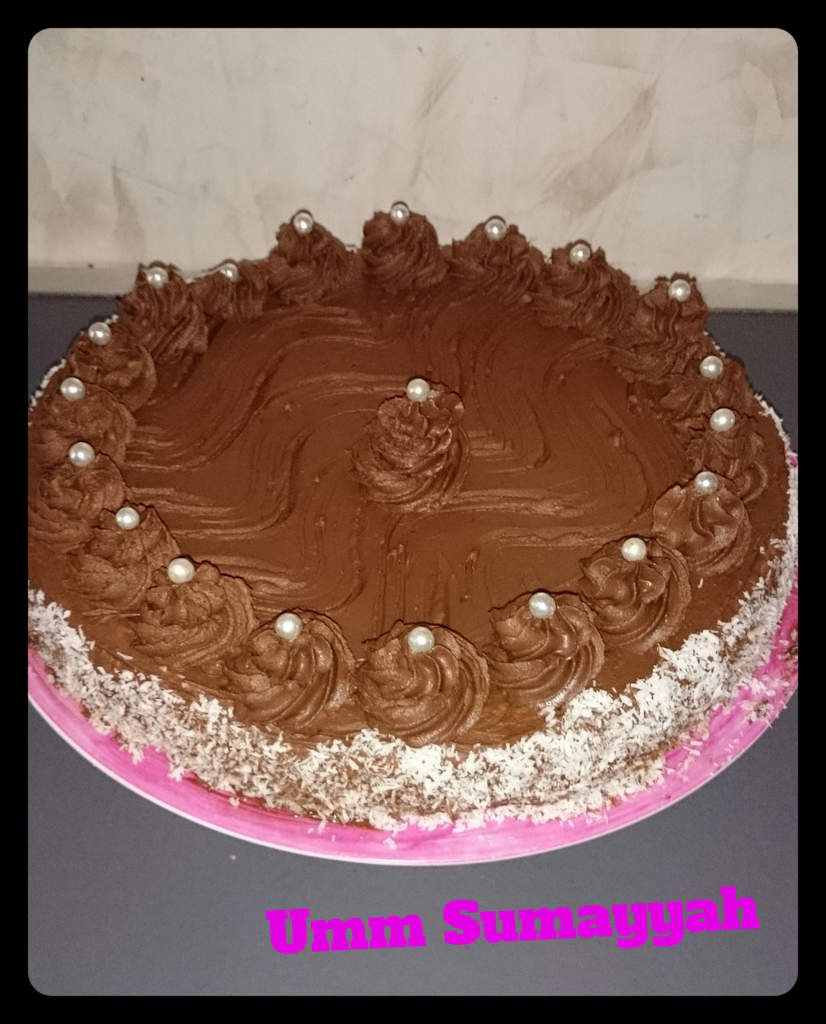 Entremet Ganache chocolat coco