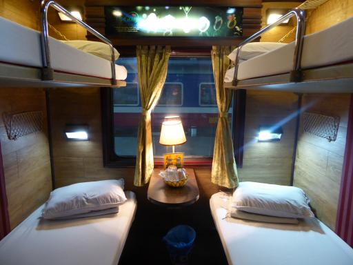 D 233 Part De Hanoi Pour Une Nuit En Train Couchette Direction