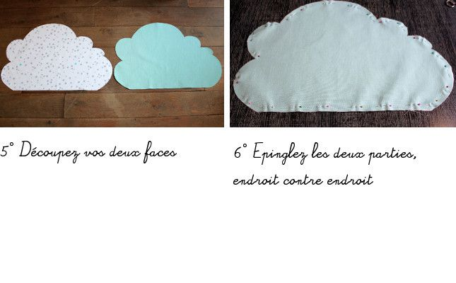 D.I.Y coussin nuage
