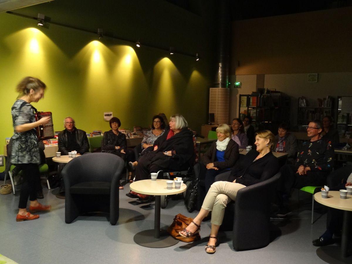 Des photos du café littéraire d'Erstein