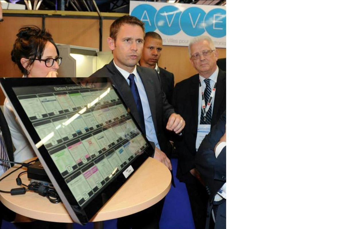 L'AVVE présente au Salon de l'Association des Maires d'Île-de-France