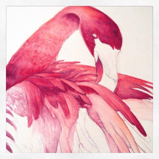 WIP Flamingo ! ❤️