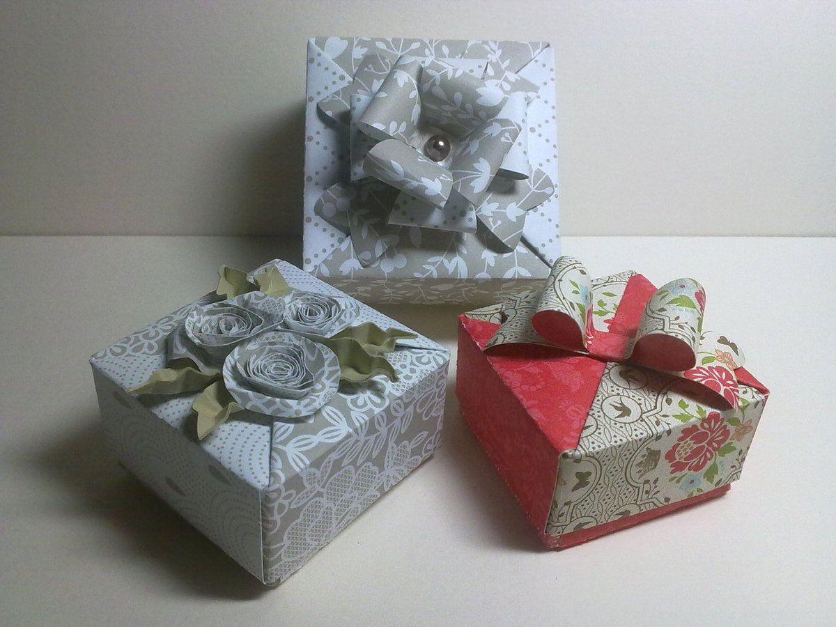 Une autre série de petites boites pour y mettre de petits cadeaux ou des douceurs.