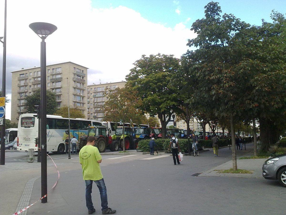 La campagne à Paris...