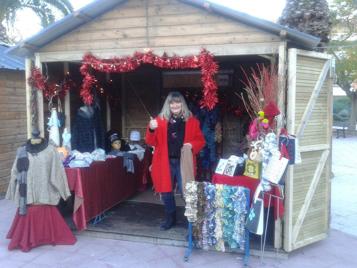 Notre petit marché de Noël