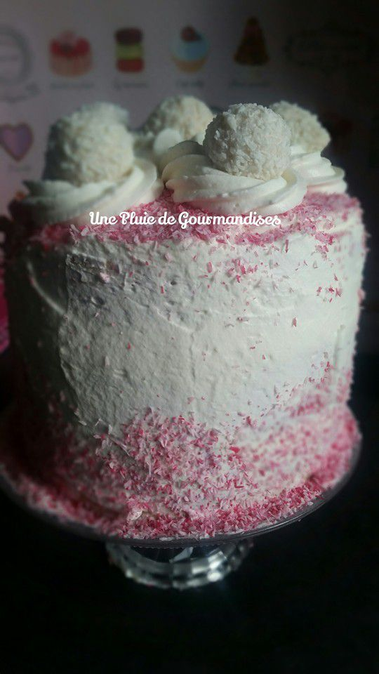 Layer Cake Fraises &amp&#x3B; Raffaello