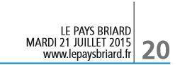 Le Pays Briard - Mardi 21 juillet 2015.