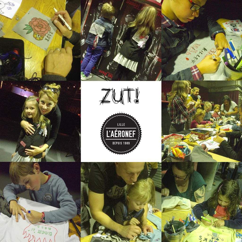 Atelier Zut! à l'Aéronef