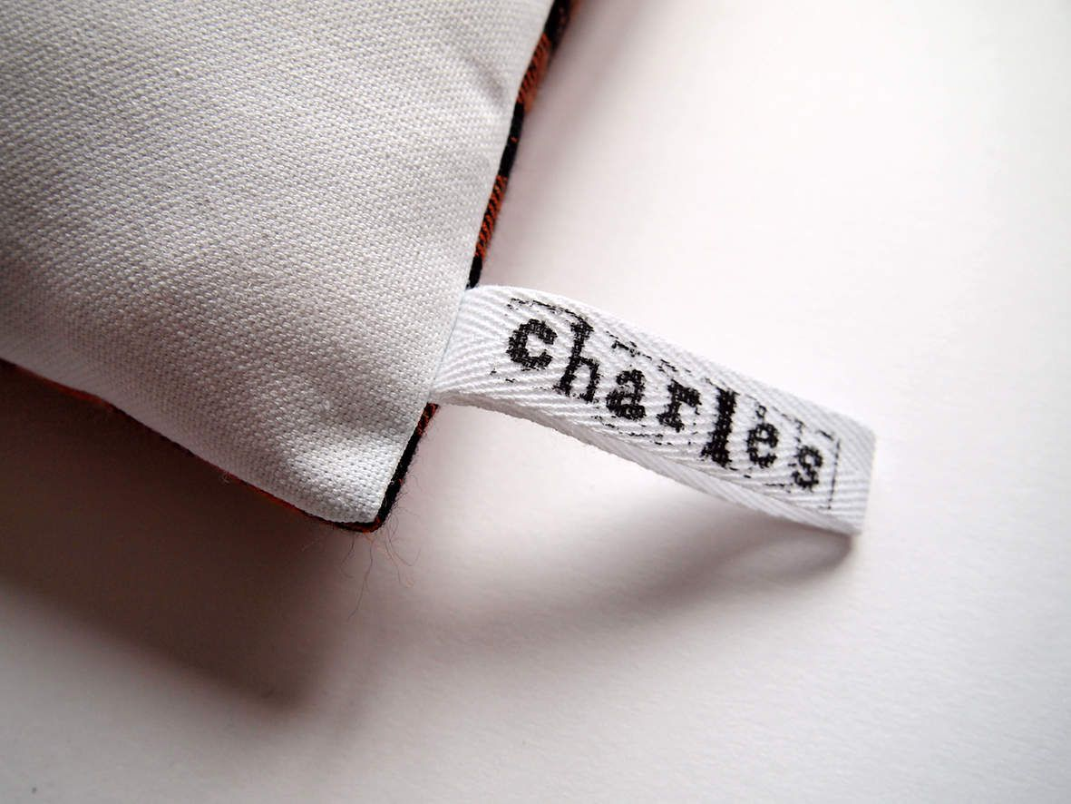 Coussin Zut! Charles