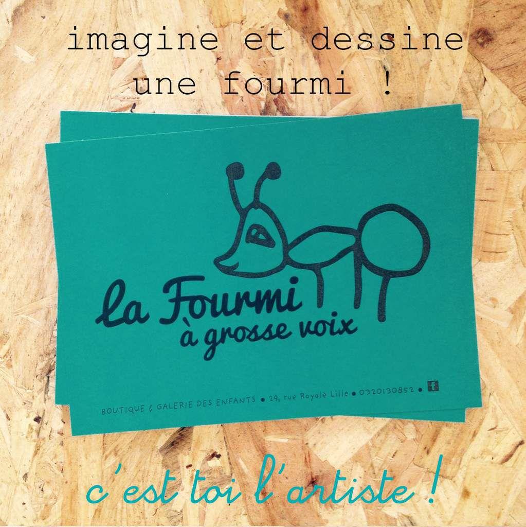Concours de Dessin Zut! &amp&#x3B; La Fourmi
